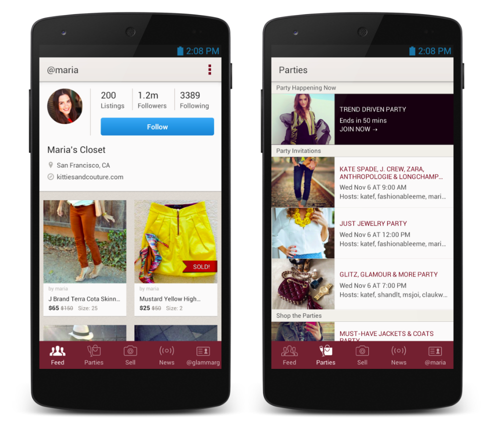 Poshmark Hits Google Play, Lets Users Buy and Sell Clothes ...