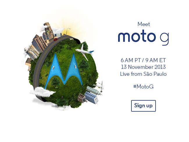 moto g event
