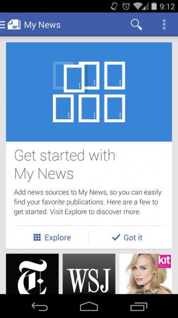 google newstand