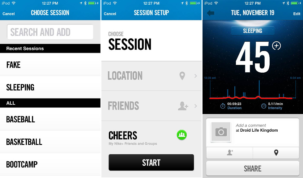 nike fuelband se android