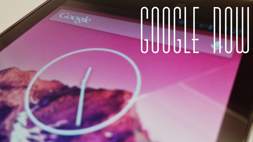 Google Now with Text