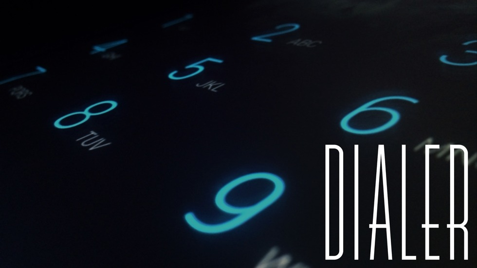 Dialer with Text