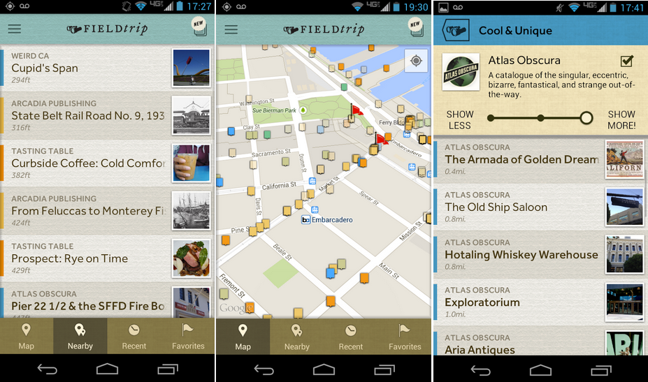 Google Launches Redesigned Field Trip App to Google Play ...