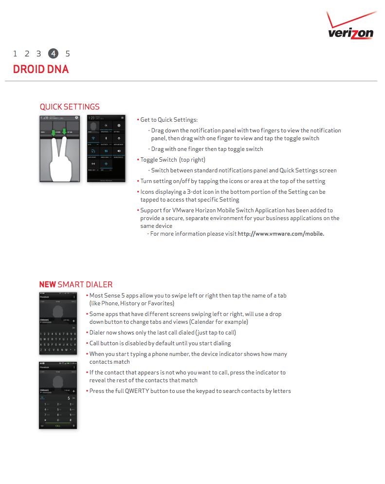 DROID DNA SENSE 5 UPDATE