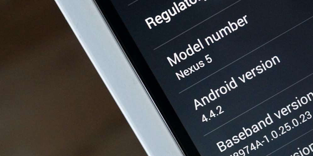 nexus 5 4.4.2