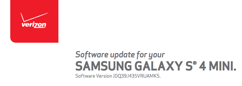 galaxy s4 mini update