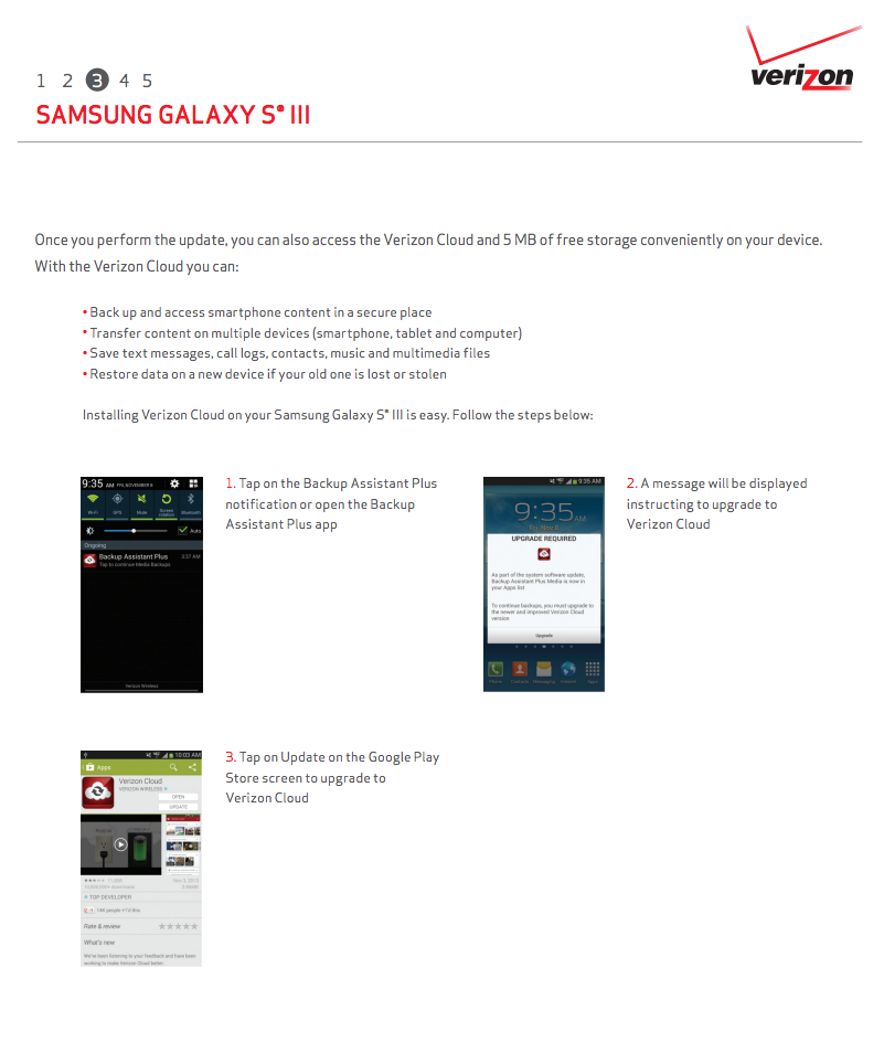 Android 4 3 Update Rolling Out to Verizon Galaxy S3 Users as