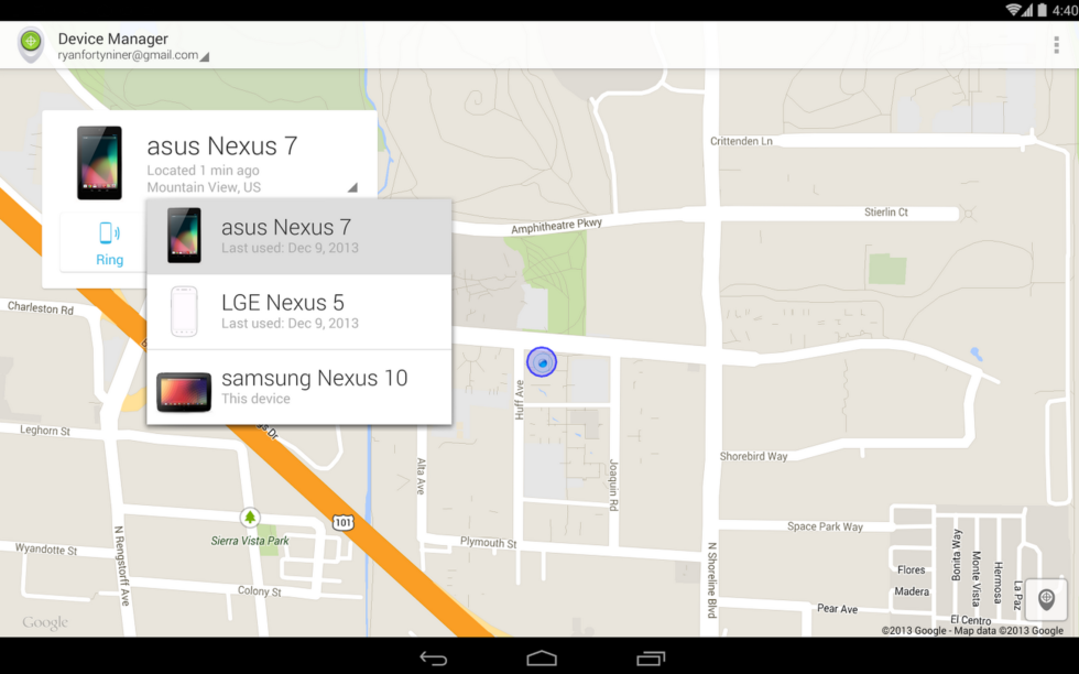 Android Device Manager Application Lands On Google Play Droid Life
