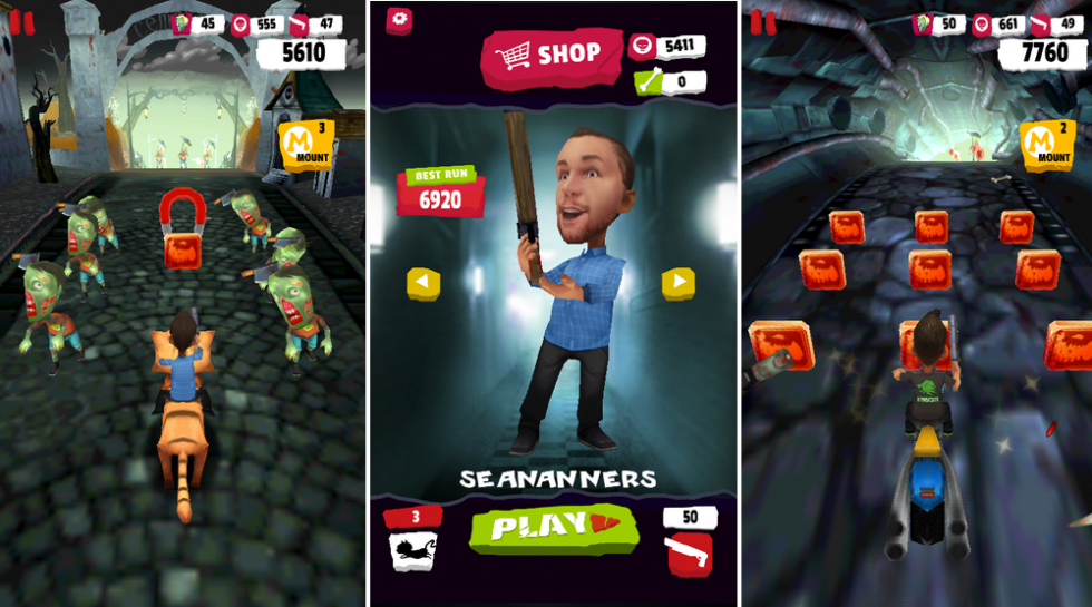 Zombie Killer Squad Released for Android – Like Temple Run, but With