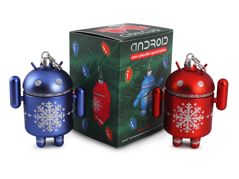 android holiday ornaments