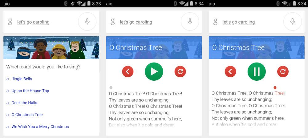 google caroling