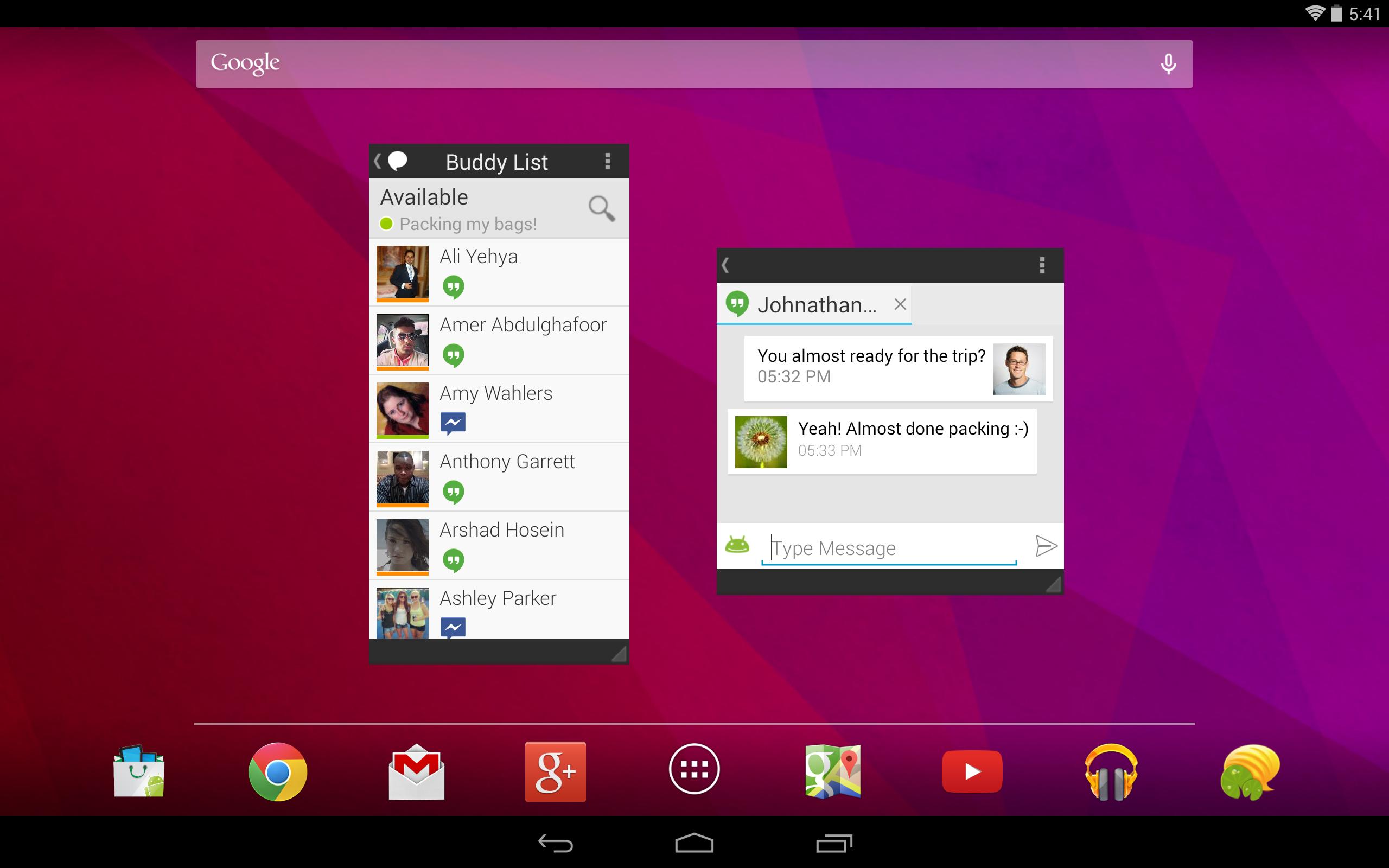 LilyPad Holo UI