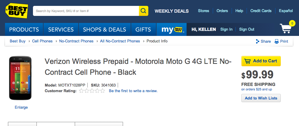 moto g lte best buy