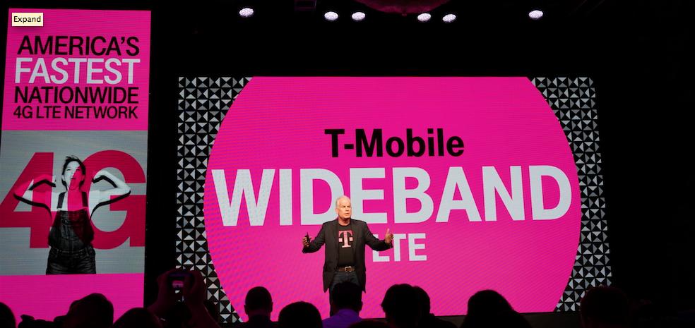 tmobile t-mobile wideband lte