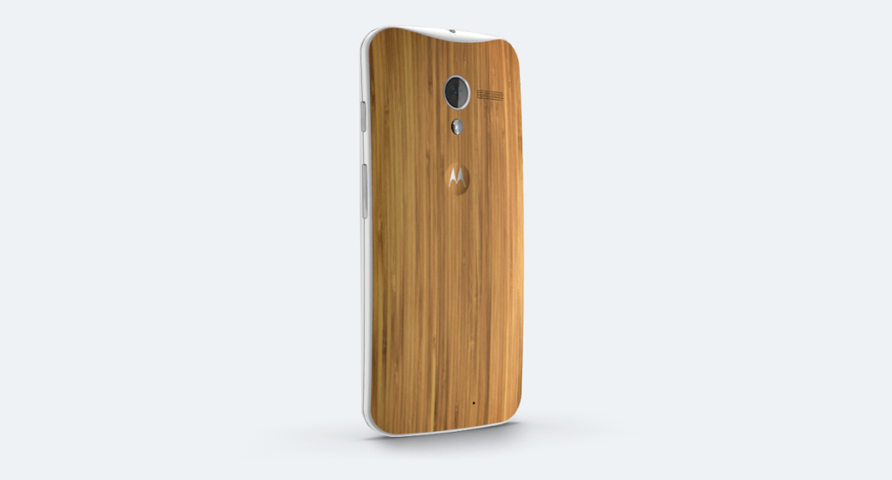 moto x wood finish
