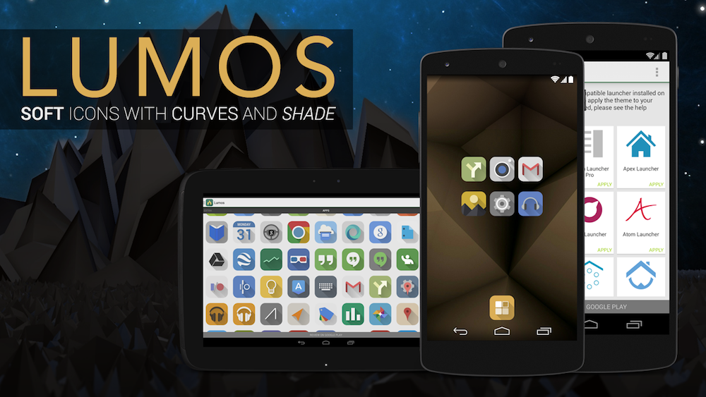 Kovdev's Lumos Icon Pack Hits Google Play, Over 1450 Icons