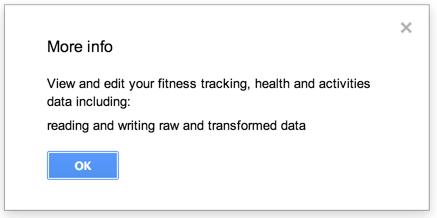 Fitness API