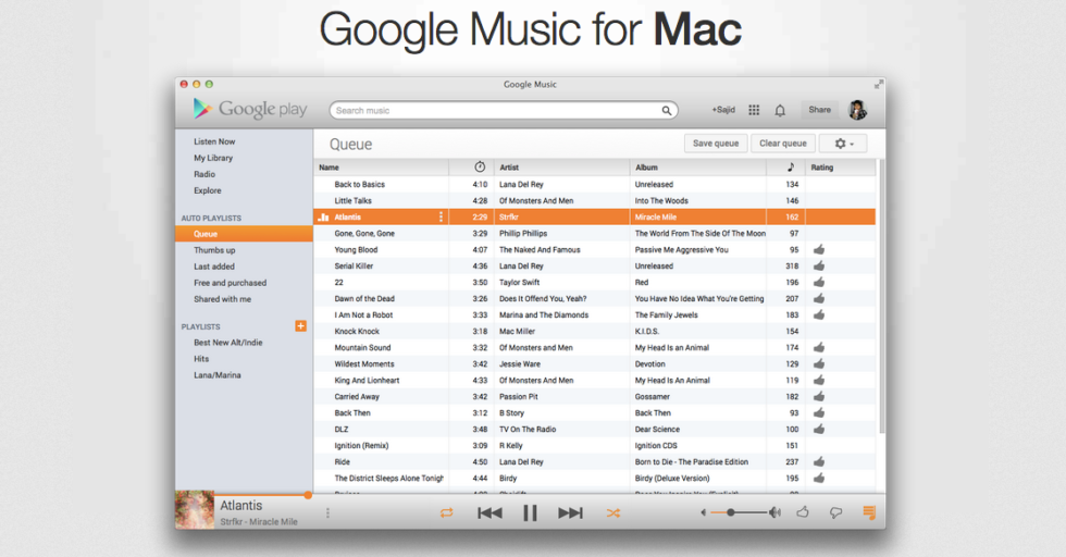 Is There A Google Play Music App For Mac - cupsim's diary