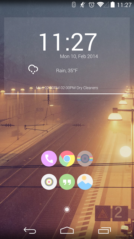 Show Off Your Home Screens Day! [February 2014] – Droid Life