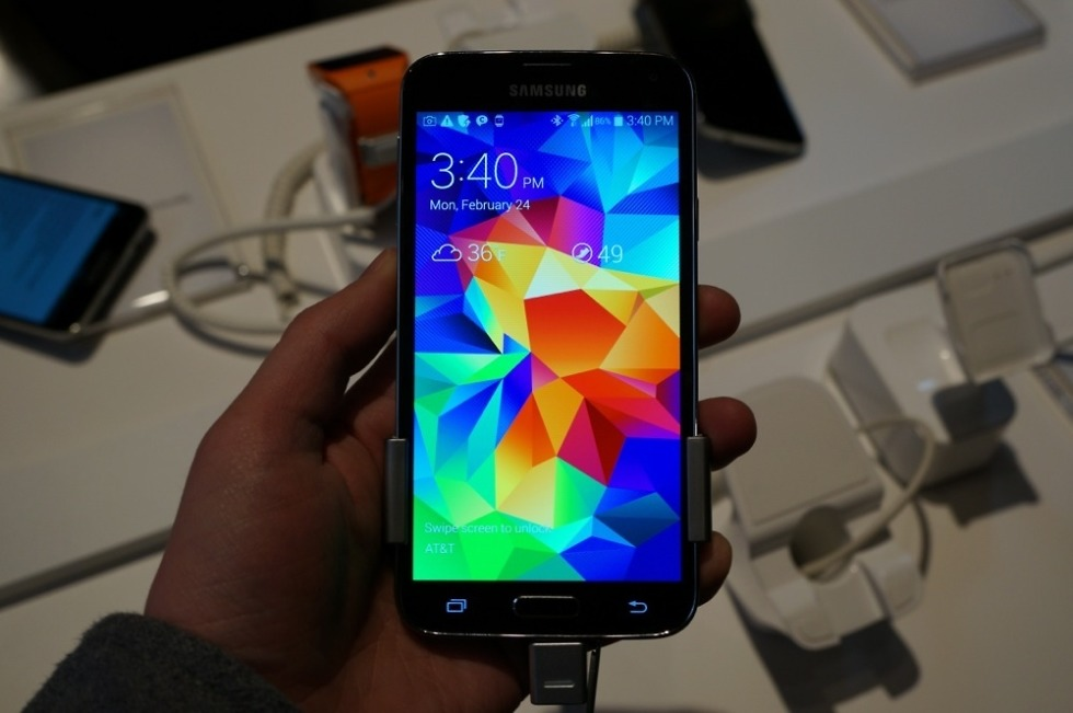 Galaxy S5 Experience App Brings the Eyes-on Look of the GS5
