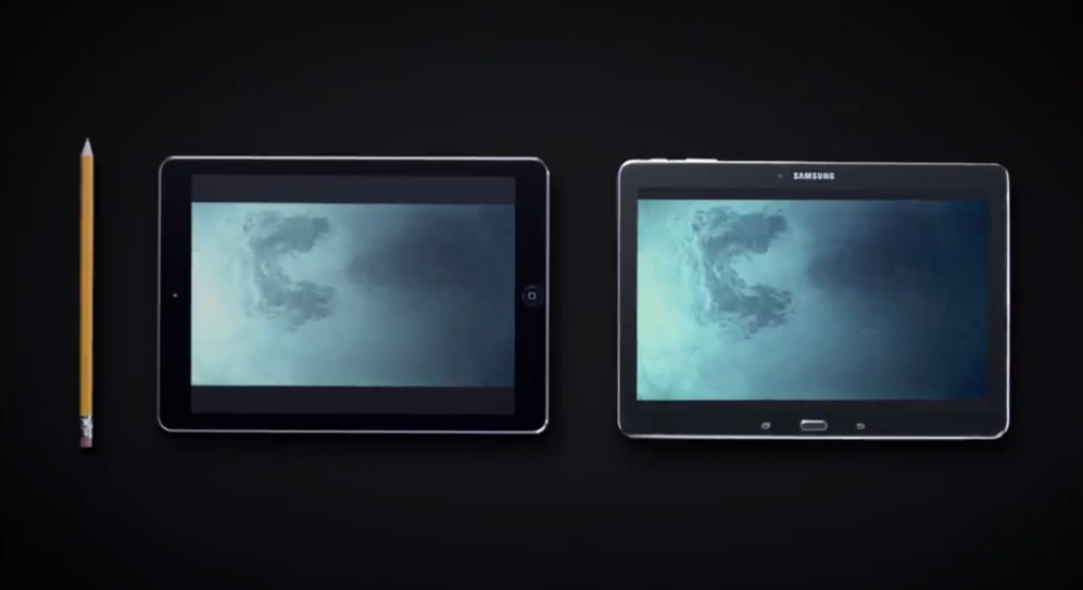 galaxy tabpro 10.1 vs ipad