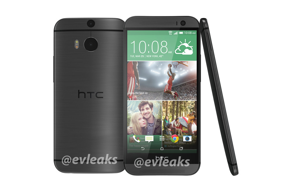htc one 2014 gray