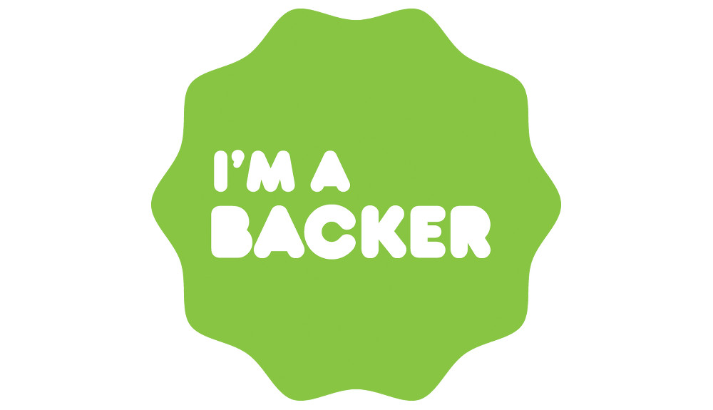 kickstarter backer