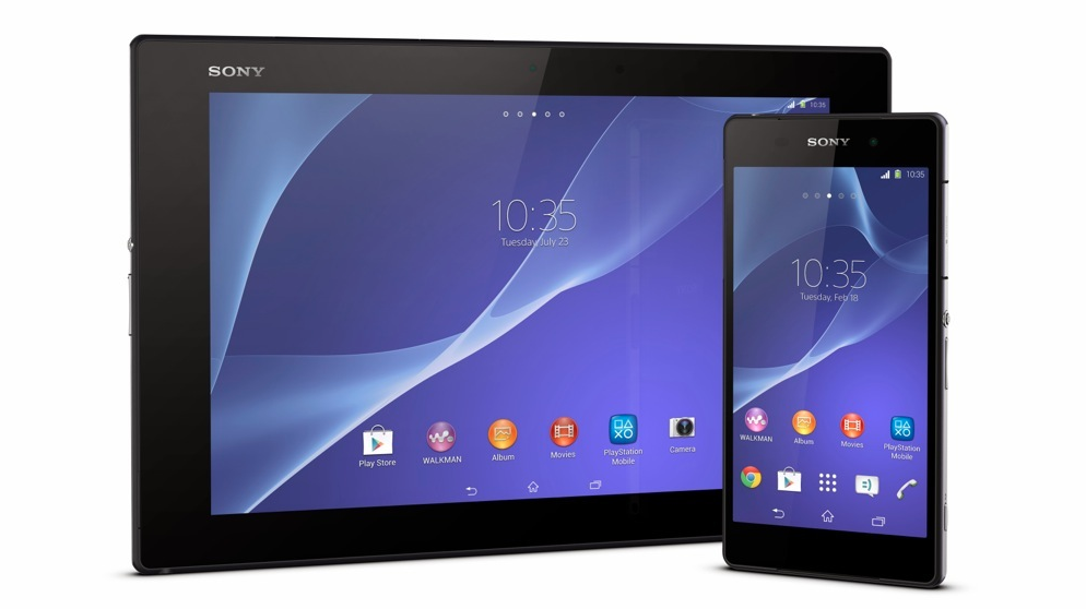 xperia z2 z2 tablet
