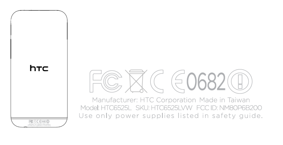 htc one 2014 verizon FCC