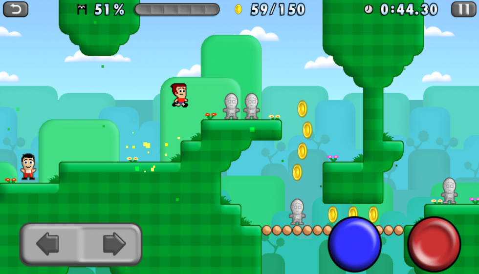 Mikey Shorts is the Best Mario Clone Available on Android, Hands