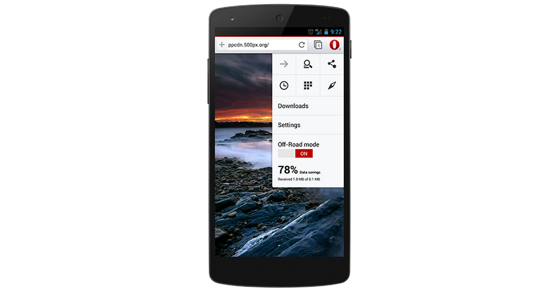opera 20 for android