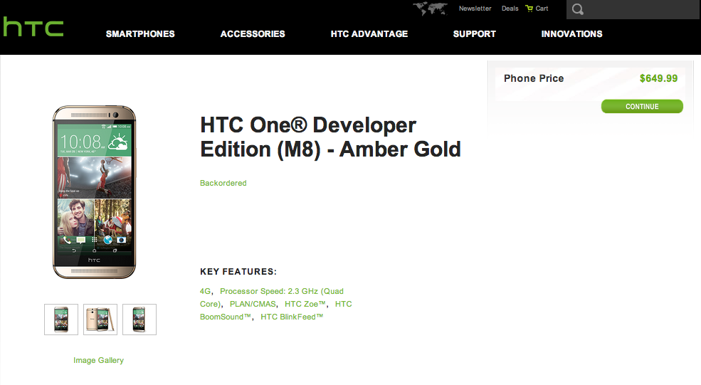 htc one m8 developer