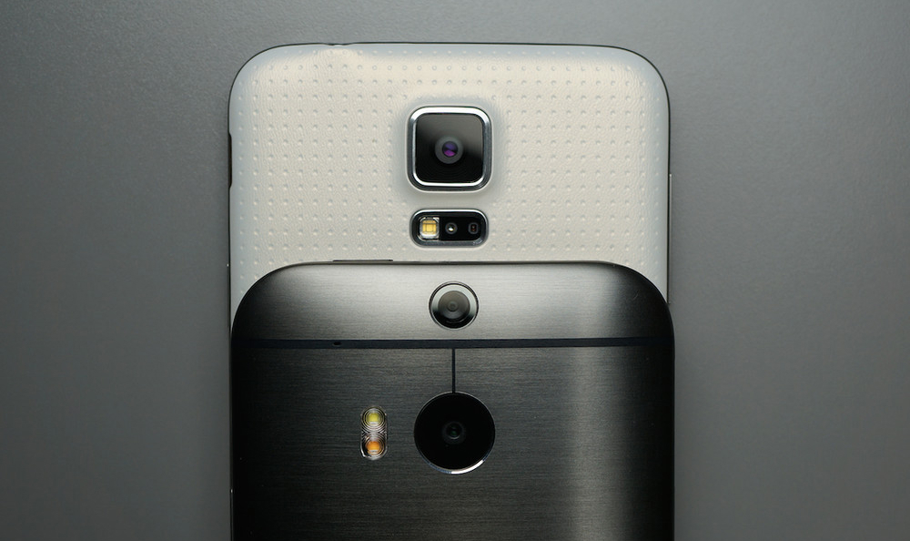 Galaxy S5 One M8 Camera