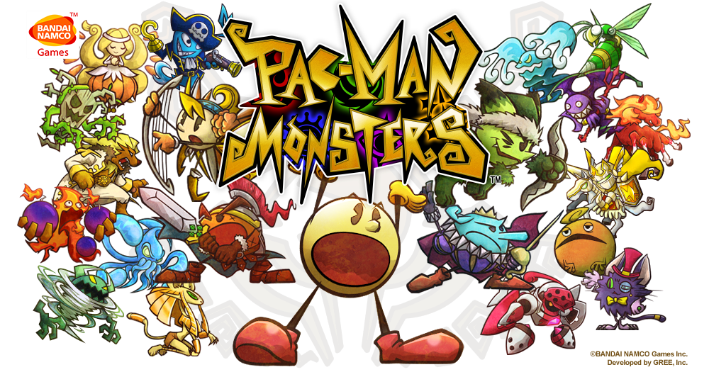 PacMan Monsters Header