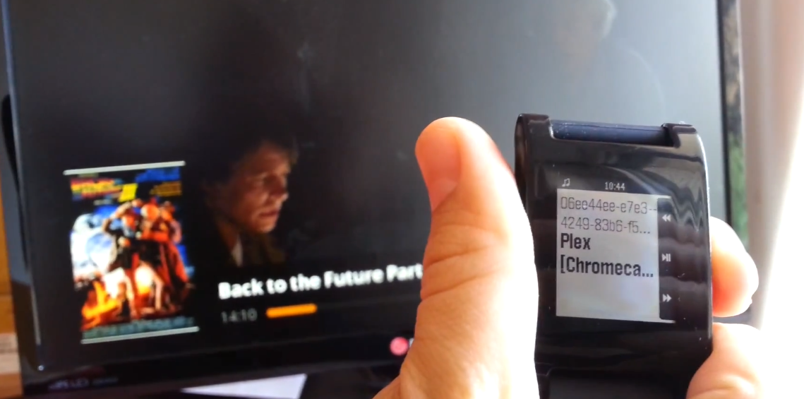 autocast pebble plex chromecast