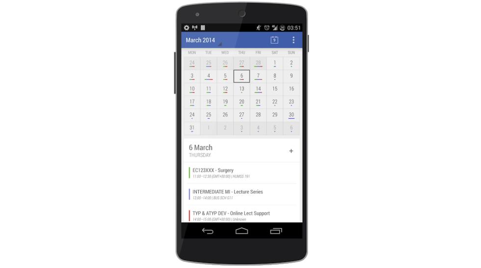"""Developer of Today Calendar Widgets Releases """"Today"""" Minimal"""