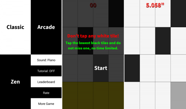 Check Out Don't Tap the White Tile Game on Google Play