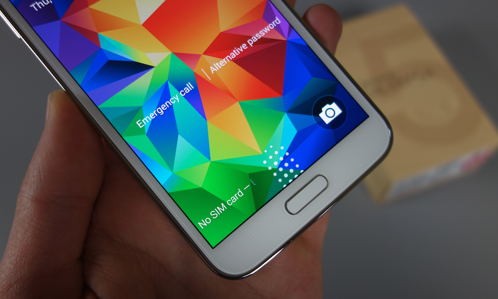 galaxy s5 fingerprint