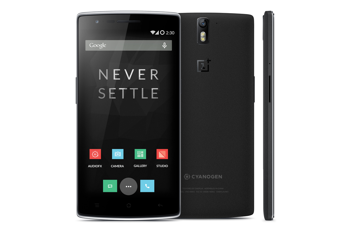 oneplus one never settle black