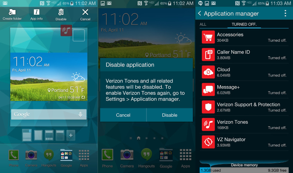 How to: Quickly Disable Bloatware on the Galaxy S5 – Droid Life