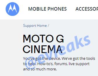 Moto G Cinema