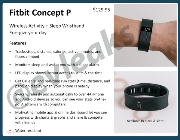 fitbit force leak