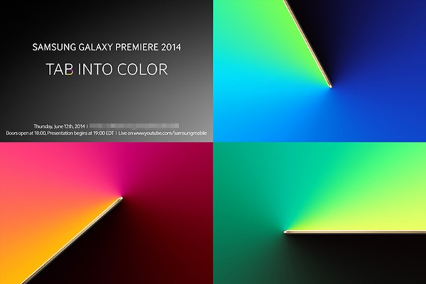 "Samsung Hosting ""Premiere"" Event on June 12, Looking Like New Tablets"