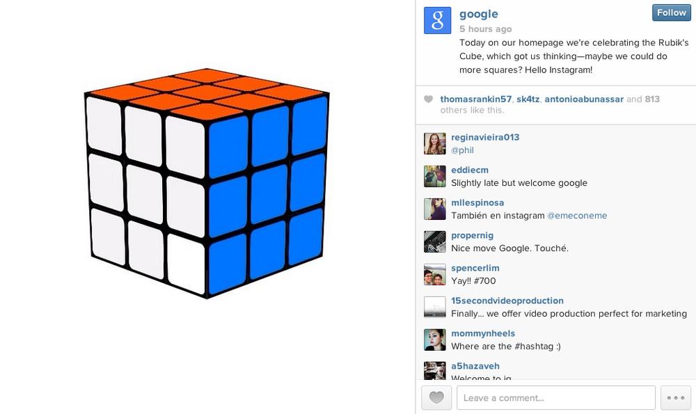 google instagram