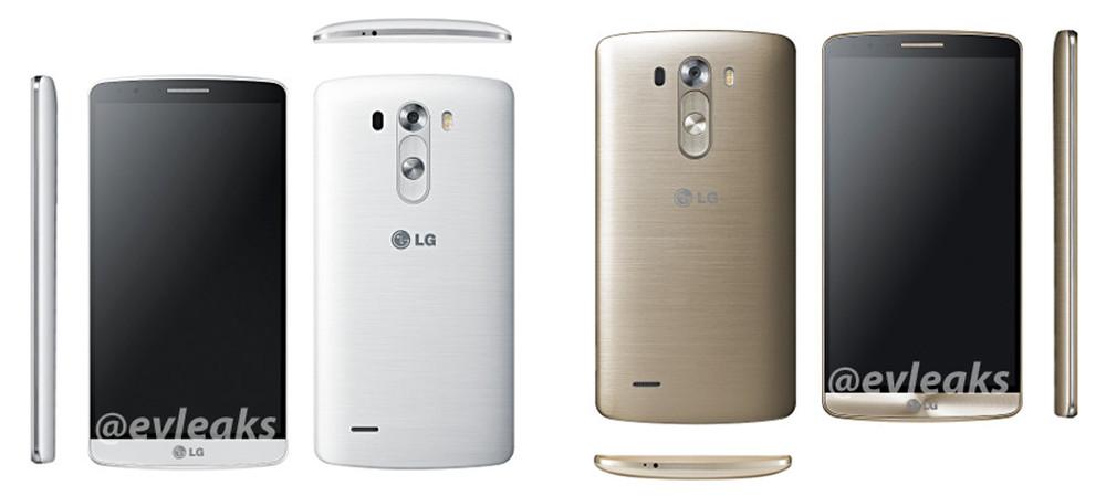 lg g3 gold white