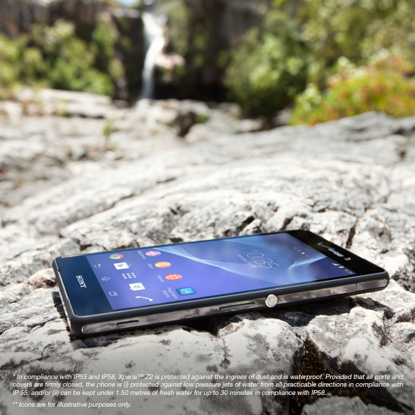 verizon xperia z2