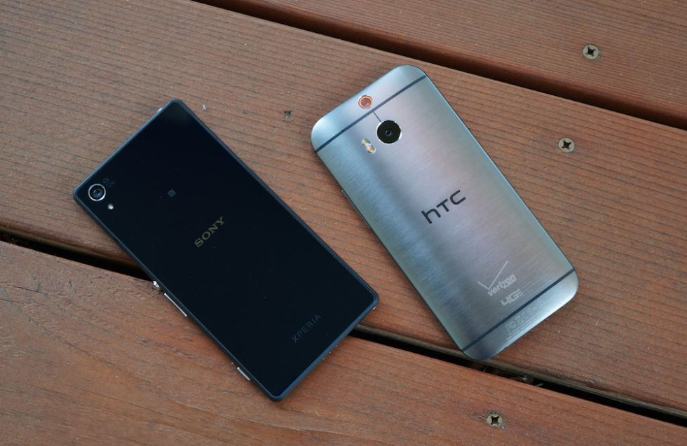 Xperia Z2 vs One M8