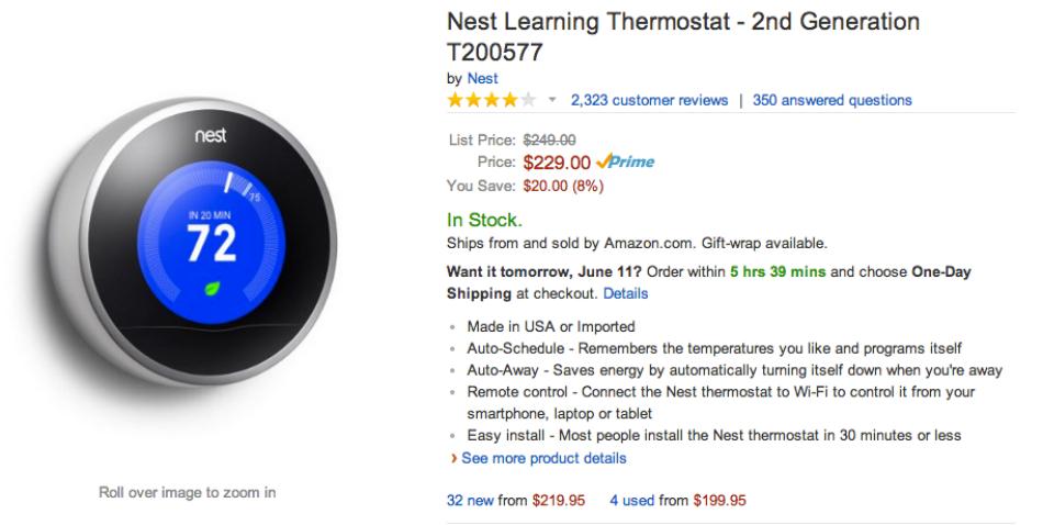 Nest Amazon