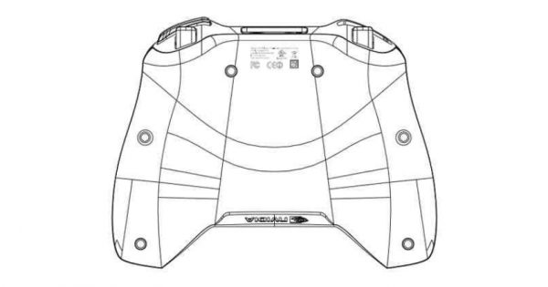 nvidia shield 2  p2570  hits fcc  curved backside shown off