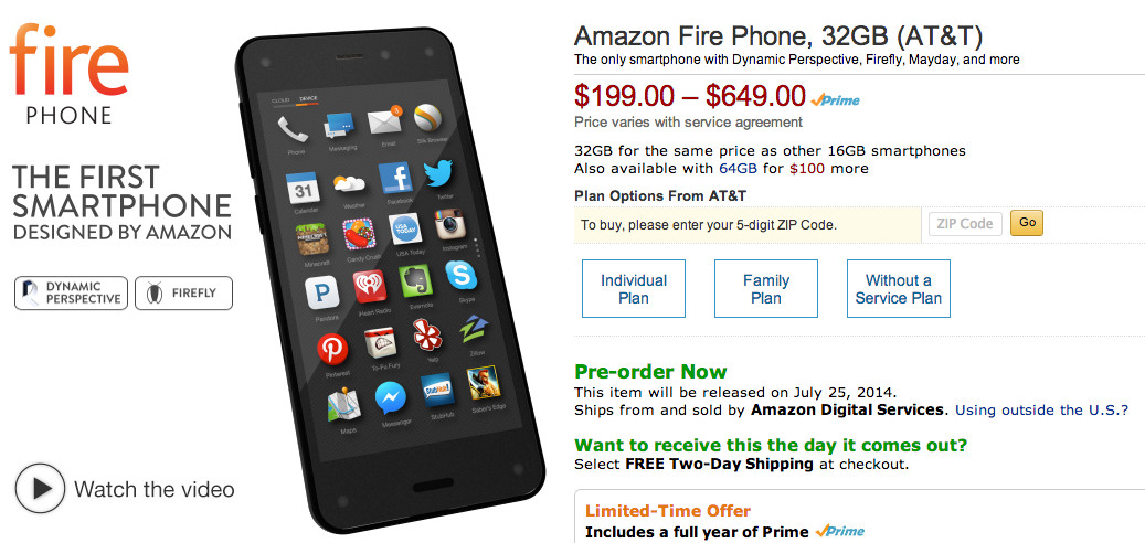 amazong fire phone